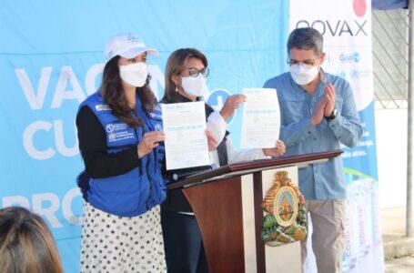 Honduras recibe 105,300 vacunas de Pfizer donadas por Covax