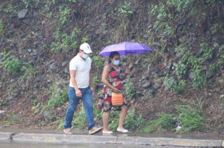 Lluvias de leves a moderadas se esperan toda la semana en casi todo el país