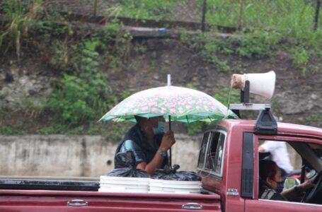 Onda tropical dejará lluvias este fin de semana en gran parte del país