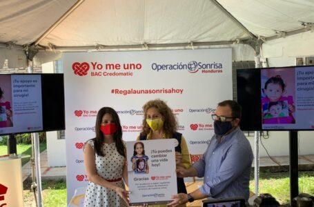 Lanzan campaña de donación #RegalaUnaSonrisaHoy para pacientes con labio y paladar hendido
