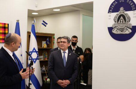 Honduras inauguró oficialmente su embajada en Jerusalén