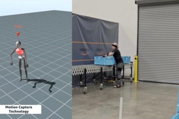 Nuevos robots de Amazon para mejorar la seguridad en sus depósitos