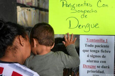 Hospital Escuela registra más de 500 casos de dengue
