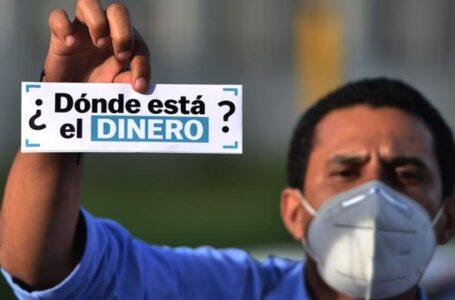 Unos L. 2,000 millones se han «dilapidado» en corrupción durante la pandemia en Honduras