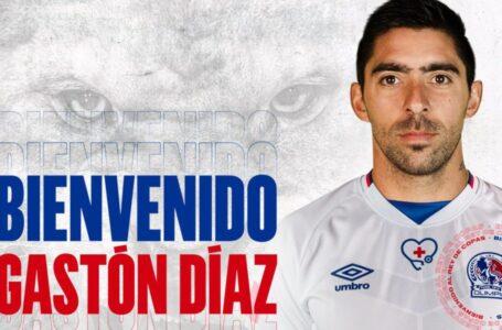 Olimpia suma a sus filas al argentino Gastón Díaz