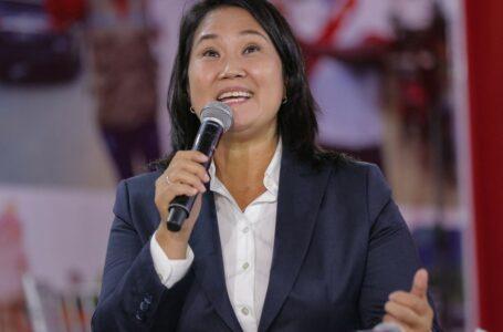 Fiscal anticorrupción de Perú pide prisión preventiva contra Keiko Fujimori