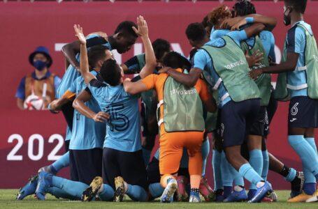 Honduras consigue su primer victoria en los Olímpicos ante Nueva Zelanda y sigue soñando