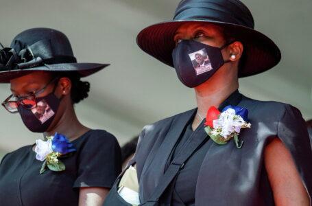 Viuda del asesinado presidente de Haití acusa a la guardia de seguridad
