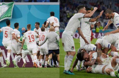 Italia y España se medirán en la primera semifinal de la Eurocopa