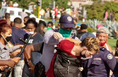 EE.UU sancionará a los responsables de la brutal represión contra las protestas en Cuba