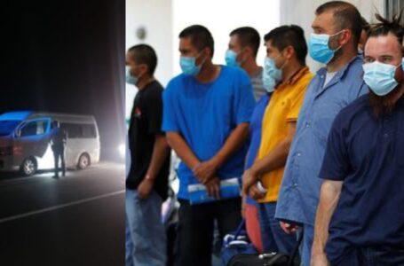 Rescatan a 49 migrantes hondureños en el Norte de México