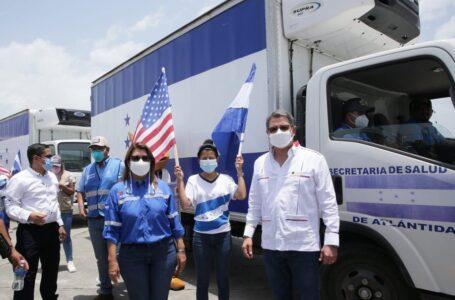 """""""Las cuentas de ustedes con nosotros son otras""""; Hernández a EEUU tras recibir donaciones"""