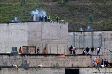 Al menos 21 muertos en varios motines registrados en dos cárceles de Ecuador