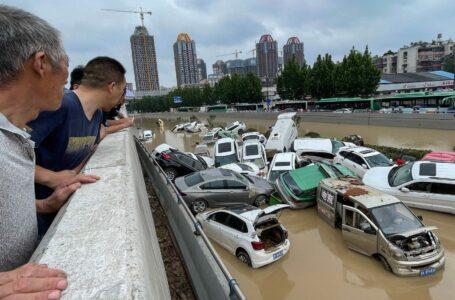 Al menos 25 muertos y 200.000 evacuados por las fuertes inundaciones China