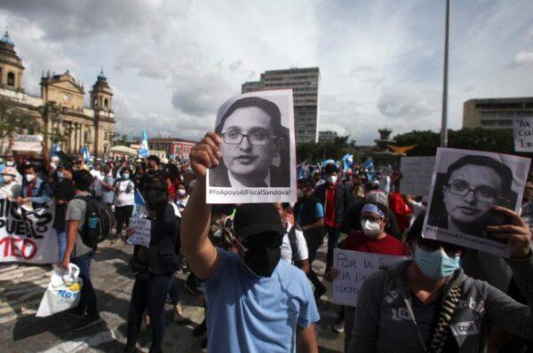 La ONU y EEUU rechazaron el despido de un fiscal anticorrupción en Guatemala