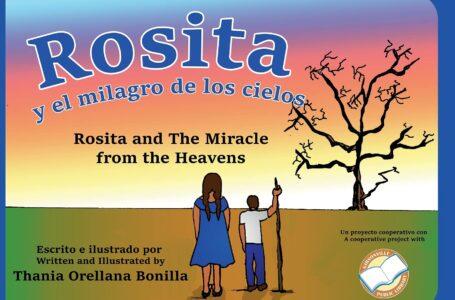 """""""Rosita y el milagro de los cielos"""", la obra de una hondureña sobre la lluvia de peces en Yoro"""