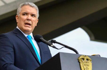 Presidente Duque le pide a EE.UU. que declare a Venezuela país promotor del terrorismo