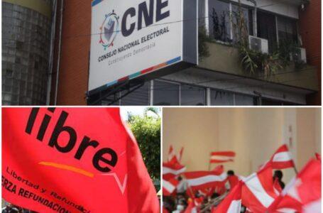 Los Partidos Libre y Liberal no están haciendo nada por apoyar al CNE