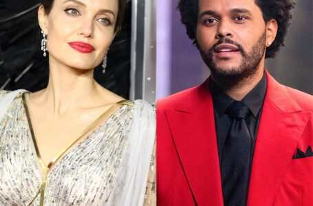 ¿Hay romance entre Angelina Jolie y The Weeknd?