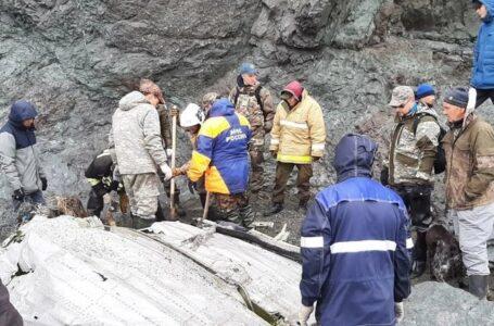 Hallaron los cuerpos de los pasajeros del avión desaparecido en el este de Rusia