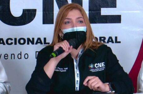 Lucha por autonomía del CNE debe ser de todos, asegura Ana Paola Hall