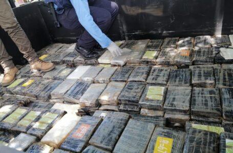Decomisan 16 fardos de cocaína en Colón