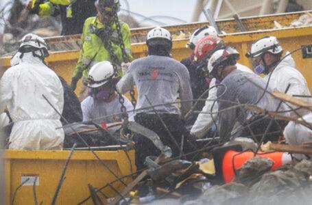 Suben a 20 los fallecidos tras derrumbe de edificio en Miami, ningún sobreviviente hasta ahora