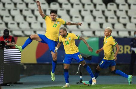 Brasil a la final de la Copa América tras derrotar a Perú