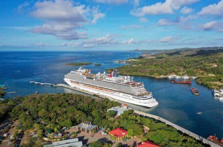 Llega primer crucero a Honduras desde el inicio de la pandemia