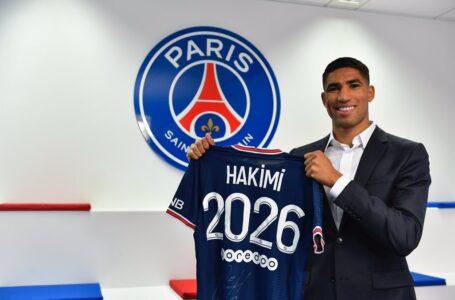 Achraf Hakimi es el nuevo fichaje «bomba» del PSG, procedente del Inter