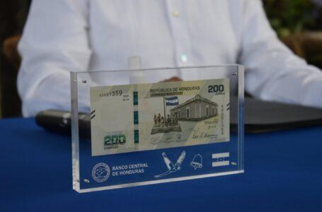 Billete de L. 200 facilitará intercambio de bienes y servicios entre población y negocios