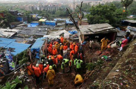 Lluvias en India dejan 36 muertos y decenas de desaparecidos