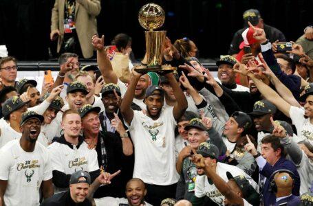 Después de 50 años, Milwaukee Bucks se coronó campeón de la NBA