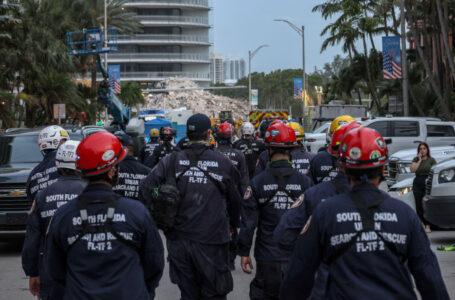 Aumenta a 90 la cifra de fallecidos tras el colapso del edificio en Miami