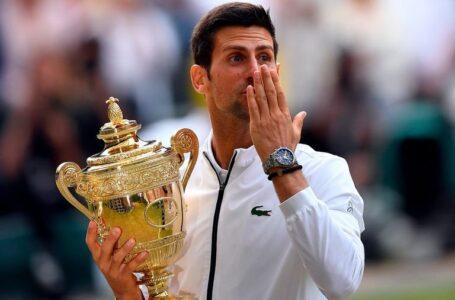 Djokovic se coronó campeón en Wimbledon y empata récord de Federer y Nadal