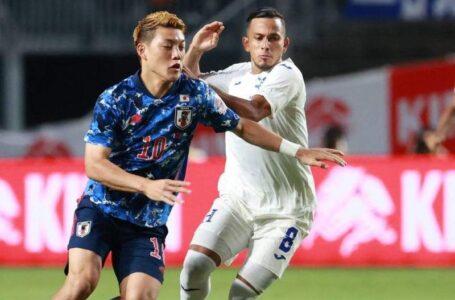 Selección Sub-23 de Honduras pierde ante Japón en amistoso