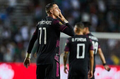México vence 3-0 a Guatemala y consigue su primera victoria en la Copa Oro