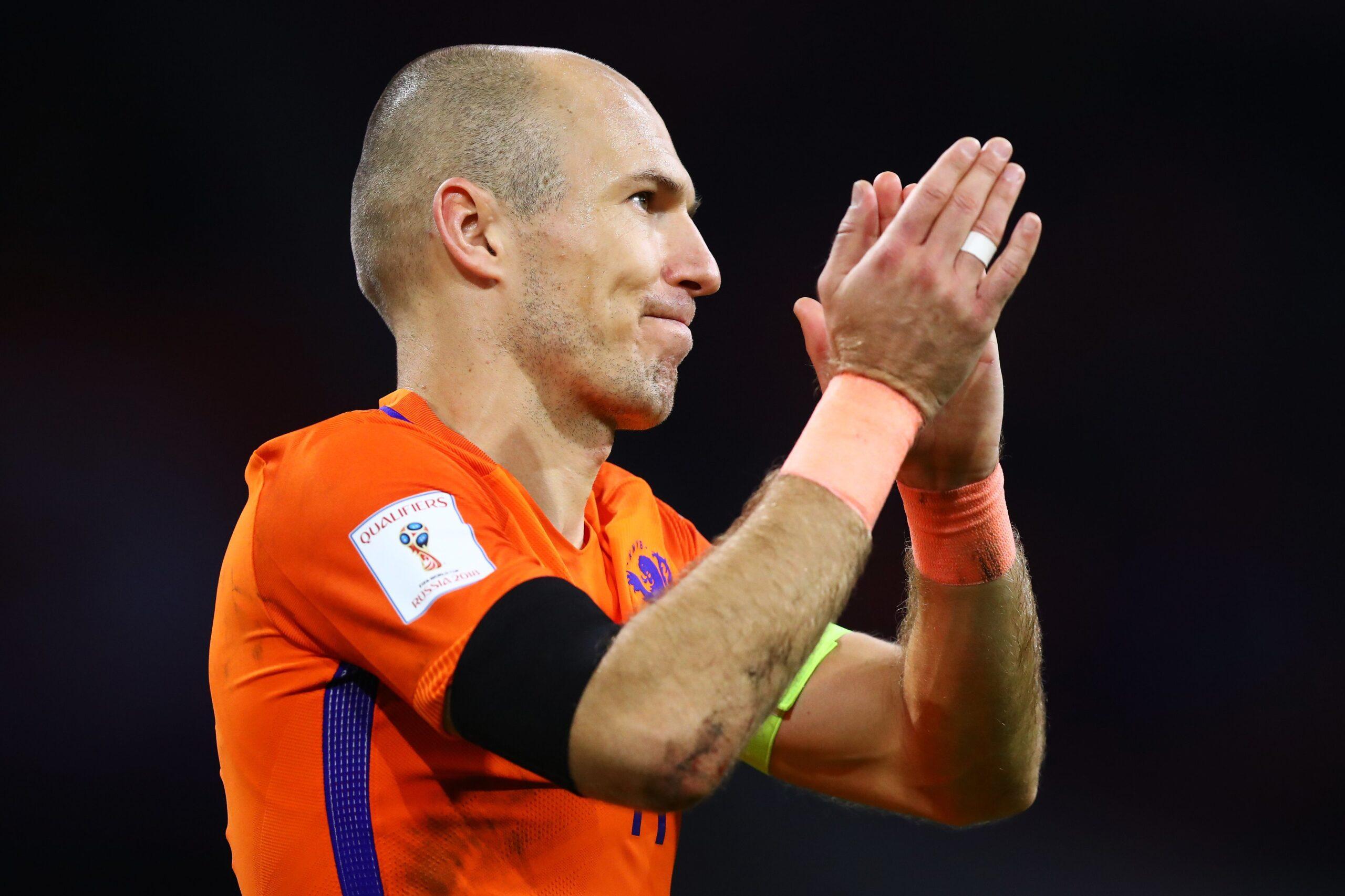 Arjen Robben anuncia su retiro definitivo del fútbol