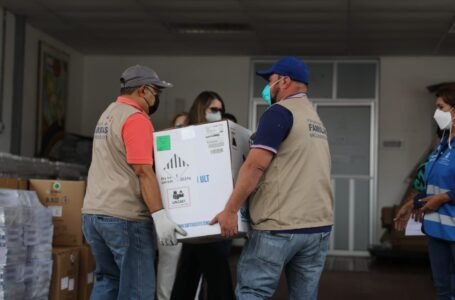 Honduras recibe nuevo lote de 42 mil 120 vacunas compradas a Pfizer