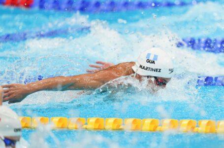 Un guatemalteco: primer centroamericano en acceder a una final de natación en los Olímpicos