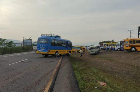Transporte público amenaza con otro paro el próximo lunes por incumplimiento de acuerdos
