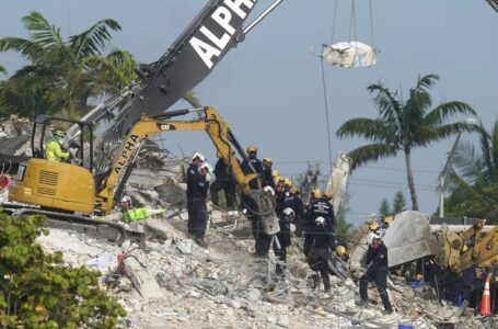 Asciende a 46 el número de muertos por el derrumbe de un edificio en Florida