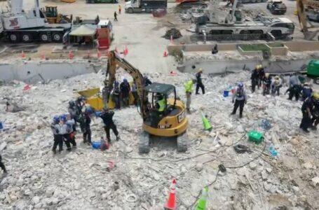 Hallan nuevos cuerpos entre los escombros del derrumbe en Miami y la cifra de muertos creció a 32