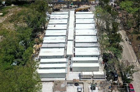 Hospital móvil de San Pedro Sula hasta la fecha ha atendido 4,100 pacientes Covid