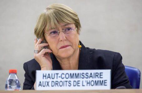 Bachelet pide a Cuba liberar a los detenidos durante las protestas
