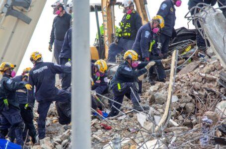 Las víctimas mortales tras edificio derrumbado en Miami ascendieron a 86