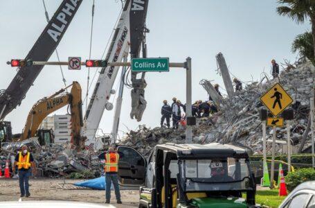 Hallan 14 nuevos cadáveres en el derrumbe de Miami y hay 78 muertes confirmadas