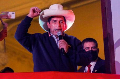 Pedro Castillo es el presidente electo de Perú