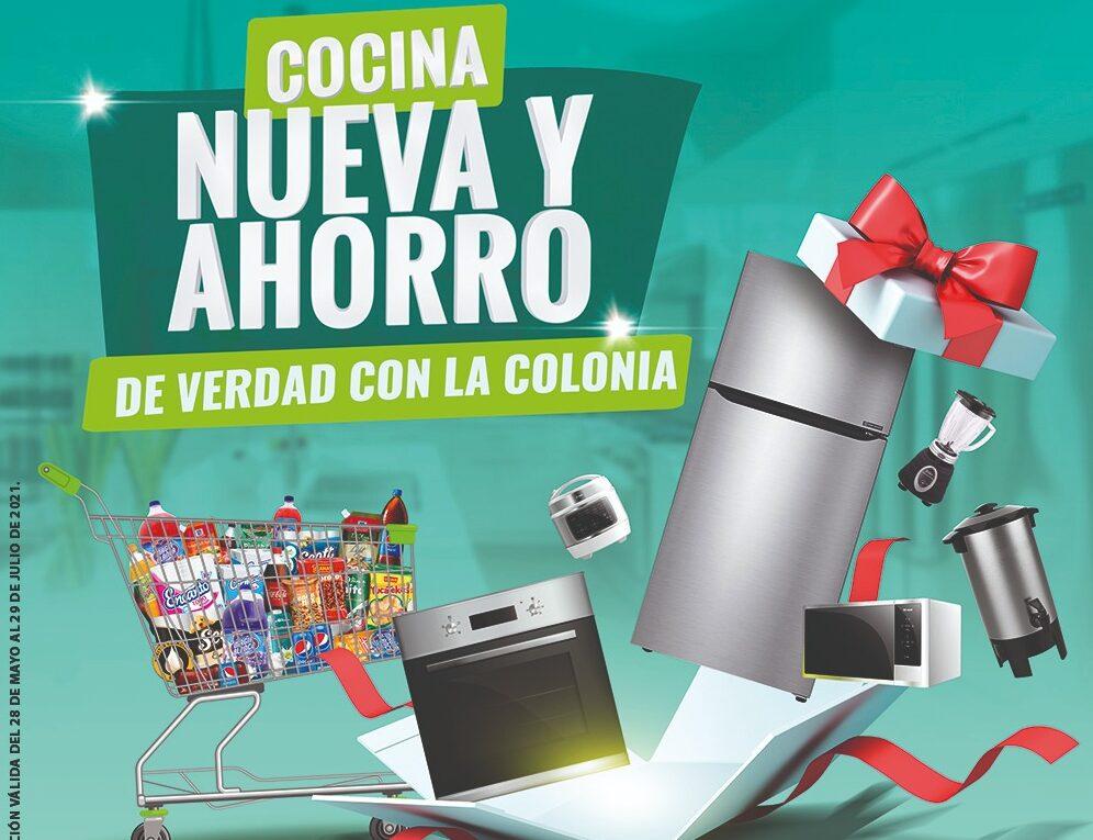 """Quedan pocos días de la promoción """"Cocina nueva y ahorro de verdad con La Colonia"""""""