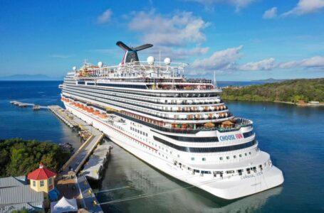 Llega segundo crucero con casi 3 mil turistas a Roatán